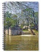 Whitewater Canal Metamora Indiana Spiral Notebook