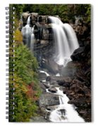 Whitewater Falls - Nc Spiral Notebook