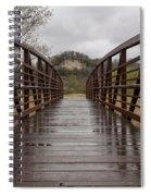 Whitewater Park Bridge Spring 4 Spiral Notebook