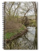 Whitewater River Spring 41 A Spiral Notebook