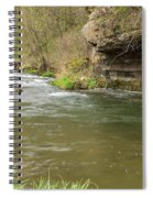 Whitewater River Spring 42 Spiral Notebook