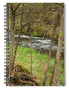 Whitewater River Spring 43 Spiral Notebook