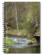 Whitewater River Spring 45 A Spiral Notebook