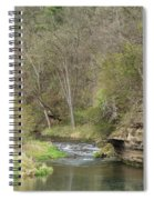 Whitewater River Spring 45 B Spiral Notebook
