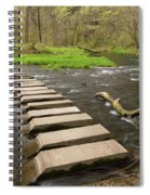 Whitewater River Spring 52 Spiral Notebook