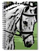 Whitey Spiral Notebook