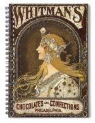 Whitman's Chocolates Spiral Notebook