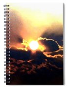 Who Has Kissed The Sun Spiral Notebook