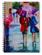 Who Loves Shopping Spiral Notebook