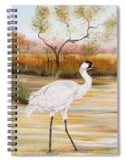 Whooping Cranes-jp3156 Spiral Notebook