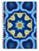 Whorl Kaleidoscope Spiral Notebook