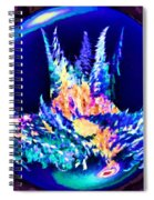Whorled World Chaos Spiral Notebook
