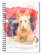 Whos That Dog In The Window? Spiral Notebook