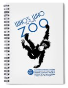 Who's Who In The Zoo - Wpa Spiral Notebook