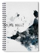 Why Do We Fall? Spiral Notebook