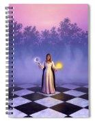 Wiccan Dawn Spiral Notebook