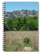 Wichita Mountains Wildlife Refuge - Oklahoma Spiral Notebook