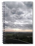 Wicked Clouds Spiral Notebook
