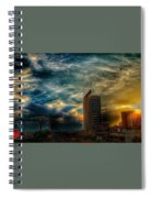 Wicked Sky  Spiral Notebook