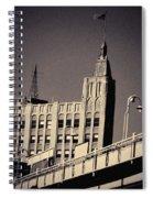 Wicker Park Northwest Tower Spiral Notebook