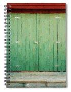 Wide Barn Door Spiral Notebook