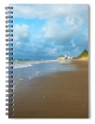 Wide Beach And Nature Spiral Notebook
