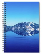Wide Crater Lake Spiral Notebook
