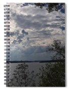 View Across Wappapello Lake Spiral Notebook