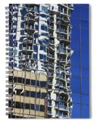 Wiggly Balconies Spiral Notebook