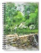 Wigwam Falls Spiral Notebook