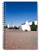 Wigwam Motel #2 Spiral Notebook