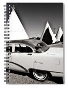 Wigwam Motel Classic Car #2 Spiral Notebook