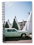 Wigwam Motel Classic Car #3 Spiral Notebook