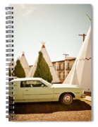 Wigwam Motel Classic Car #4 Spiral Notebook