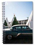 Wigwam Motel Classic Car #5 Spiral Notebook