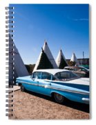 Wigwam Motel Classic Car #6 Spiral Notebook