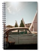 Wigwam Motel Classic Car #8 Spiral Notebook