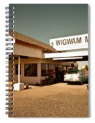 Wigwam Motel Spiral Notebook