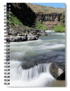 Wild And Scenic White River Spiral Notebook