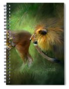 Wild Attraction Spiral Notebook