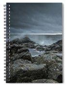 Wild Baltic Sea Spiral Notebook