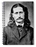 Wild Bill Hickok - American Gunfighter Legend Spiral Notebook