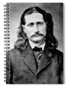 Wild Bill Hickok - American Gunfighter Legend Spiral Notebook