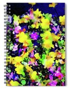 Wild Blossoms Spiral Notebook