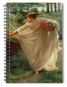 Wild Blossoms Spiral Notebook