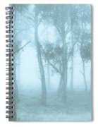 Wild Blue Woodland Spiral Notebook