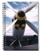 Wild Blue Yonder Spiral Notebook