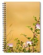 wild caper plant Capparis spinosa Spiral Notebook
