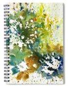 Wild Carrots Spiral Notebook