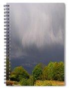 Wild Clouds Spiral Notebook